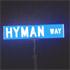 Hyman Way... he he he...